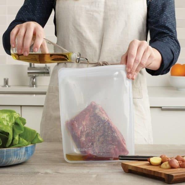 Eco Friendly, Reusable Stasher Bag